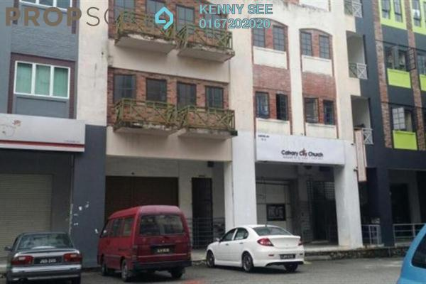 For Sale Shop at Saujana Jaya, Kulai Freehold Semi Furnished 3R/4B 1.2m