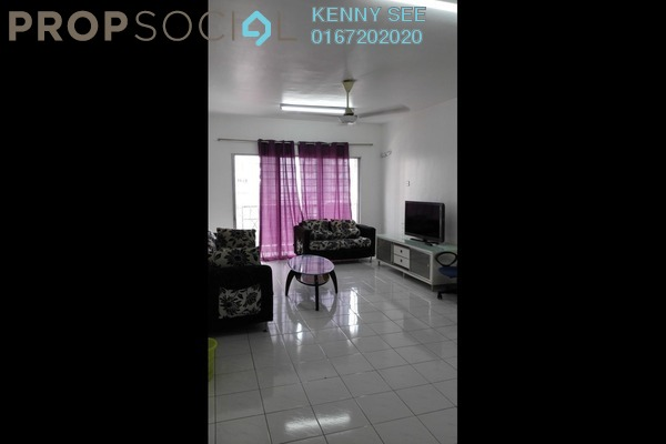 For Rent Condominium at Endah Ria, Sri Petaling Leasehold Fully Furnished 3R/2B 1.9k