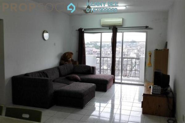 For Rent Condominium at Endah Ria, Sri Petaling Leasehold Fully Furnished 3R/2B 1.8k