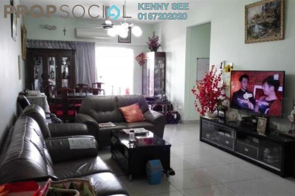 For Sale Serviced Residence at Endah Promenade, Sri Petaling Leasehold Semi Furnished 3R/2B 675k