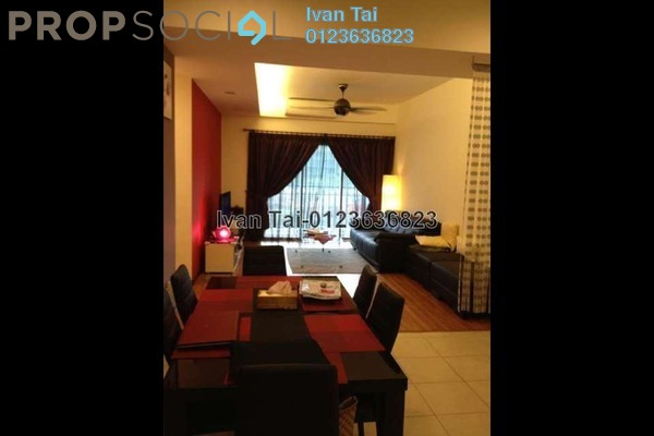 For Sale Condominium at Rosvilla, Segambut Freehold Semi Furnished 3R/2B 650k