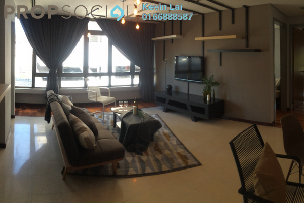 For Rent Serviced Residence at i-Zen Kiara II, Mont Kiara Freehold Fully Furnished 2R/3B 3.8k