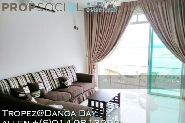 For Rent Serviced Residence at Tropez Residences, Danga Bay Freehold Fully Furnished 4R/3B 3.6k