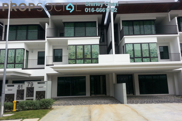 For Sale Terrace at Duta Villa, Setia Alam Freehold  5R/4B 1.8m