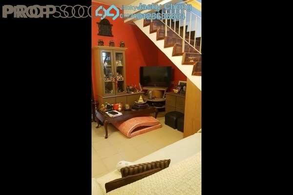 For Sale Terrace at Serindit, Bandar Puchong Jaya Freehold Semi Furnished 2R/2B 588k