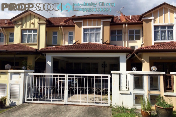 For Sale Terrace at Kemuning Bayu , Kemuning Utama Freehold Semi Furnished 4R/4B 928k