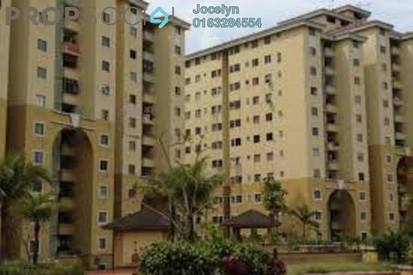 For Rent Apartment at Ketumbar Heights, Cheras Freehold Semi Furnished 3R/2B 1.1k