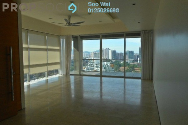 For Rent Condominium at Park Seven, KLCC Freehold Semi Furnished 3R/4B 12k