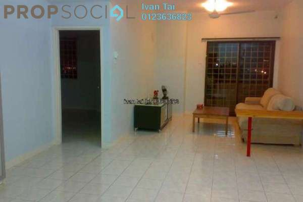 For Rent Apartment at Bougainvilla, Segambut Freehold Semi Furnished 3R/2B 1.6k