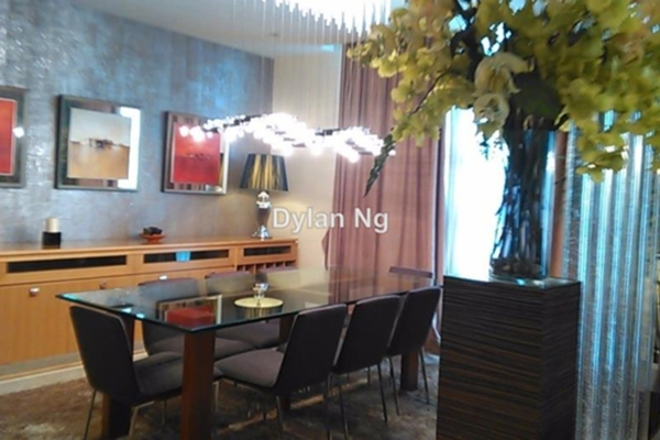 For Rent Condominium at Bintang Goldhill, KLCC Leasehold Semi Furnished 4R/6B 17k