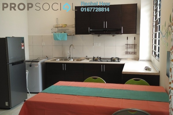 For Rent Townhouse at Pearl Residence, Kajang Freehold Fully Furnished 3R/2B 1.2k