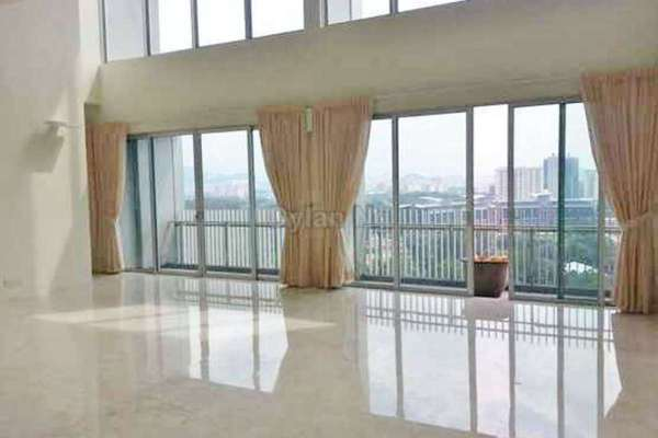 For Rent Duplex at Dua Residency, KLCC Leasehold Unfurnished 4R/5B 10k