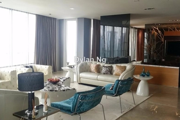 For Rent Condominium at The Oval, KLCC Leasehold Unfurnished 5R/7B 25.0千