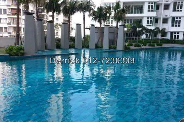 For Sale Condominium at Royal Regent, Dutamas Freehold Semi Furnished 2R/2B 588k
