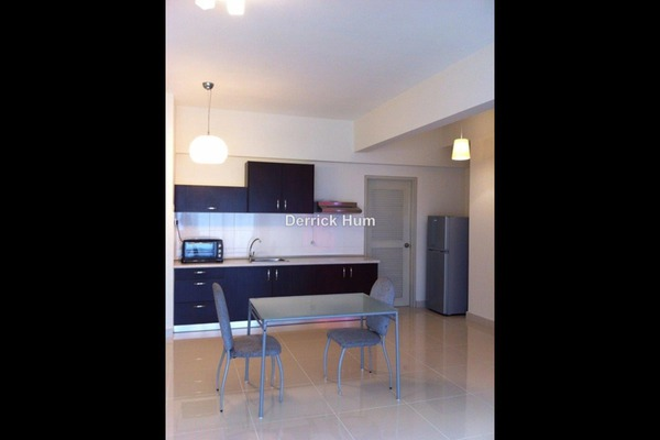 For Sale Apartment at Setia Walk, Pusat Bandar Puchong Leasehold Fully Furnished 1R/1B 520k