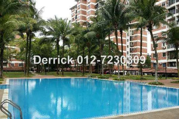For Sale Condominium at Forest Green, Bandar Sungai Long Leasehold Semi Furnished 3R/2B 448k