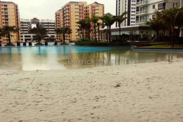 For Sale Condominium at Le Yuan Residence, Kuchai Lama Leasehold Unfurnished 3R/2B 799k