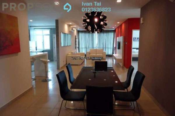 For Rent Condominium at Aston Kiara 3, Mont Kiara Freehold Fully Furnished 3R/3B 3k