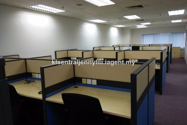 For Rent Office at Plaza Sentral, KL Sentral Leasehold Unfurnished 0R/0B 9.35k