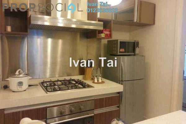 For Rent Condominium at Tiffani Kiara, Mont Kiara Freehold Fully Furnished 1R/2B 3.8k