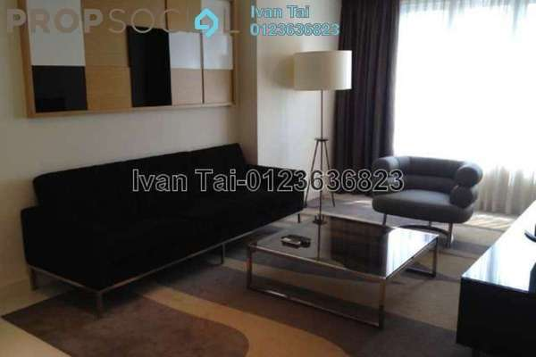 For Rent Condominium at Tiffani Kiara, Mont Kiara Freehold Fully Furnished 2R/3B 5.5k