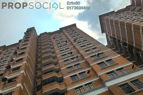For Rent Condominium at Putra Indah Apartment, Bandar Putra Permai Freehold Semi Furnished 4R/3B 1.2k