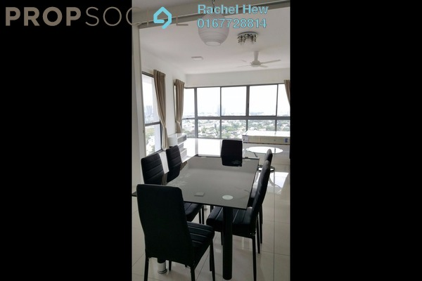 For Rent Condominium at Latitud 3, Petaling Jaya Leasehold Fully Furnished 1R/2B 2k