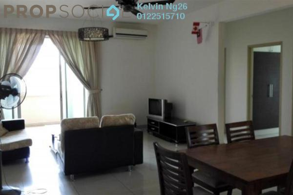 For Rent Condominium at Aman Heights, Seri Kembangan Freehold Fully Furnished 4R/3B 1.3k