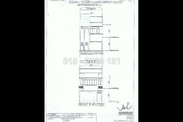 For Rent Shop at Taman Bayu Permai, Rawang Leasehold Unfurnished 0R/2B 1.5k