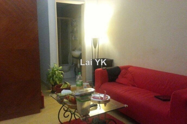 For Sale Apartment at Dorchester, Sri Hartamas Leasehold Semi Furnished 0R/1B 338k