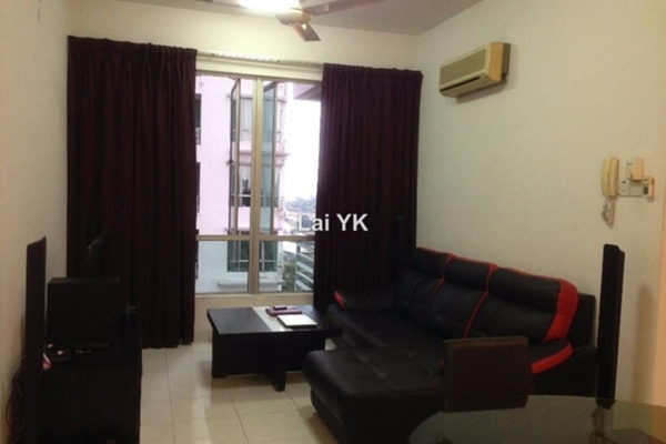 For Sale Apartment at Casa Tiara, Subang Jaya Leasehold Fully Furnished 2R/2B 555k