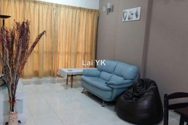 For Rent Apartment at e-Tiara, Subang Jaya Leasehold Fully Furnished 2R/2B 2.15k