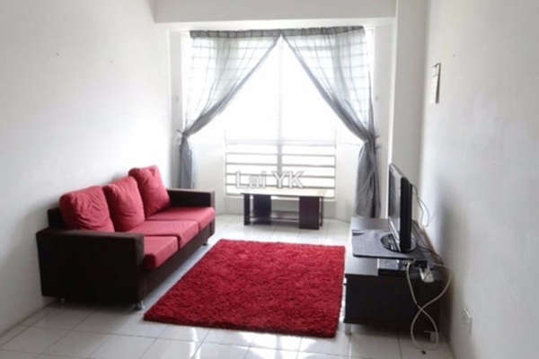 For Rent Condominium at Rhythm Avenue, UEP Subang Jaya Leasehold Fully Furnished 3R/2B 1.65k