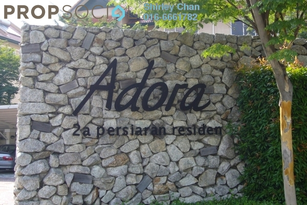 For Sale Terrace at Adora, Desa ParkCity Freehold Semi Furnished 4R/4B 1.8m