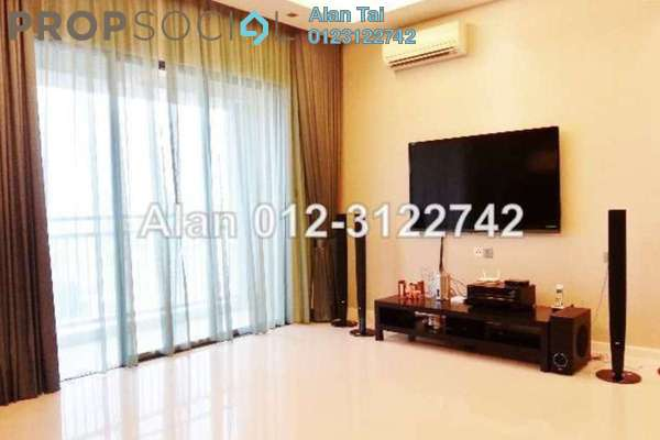 For Rent Condominium at Casa Kiara II, Mont Kiara Freehold Fully Furnished 3R/3B 4k