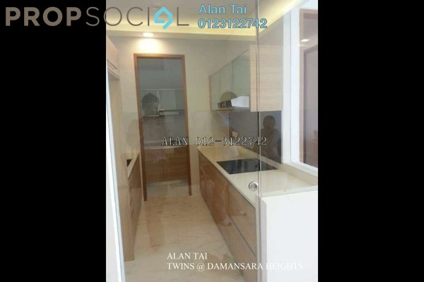 For Rent Condominium at Twins, Damansara Heights Freehold Fully Furnished 3R/5B 3.8k