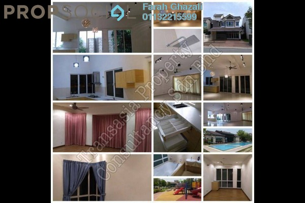 For Rent Bungalow at Lagoon Homes, Kota Kemuning Freehold Semi Furnished 5R/5B 3.0千