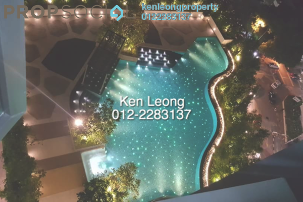 For Rent Condominium at Pearl Suria, Old Klang Road Leasehold Semi Furnished 2R/2B 1.9k