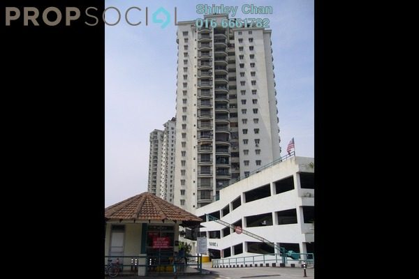 For Sale Condominium at Jasmine Towers, Petaling Jaya Freehold Semi Furnished 3R/2B 750k
