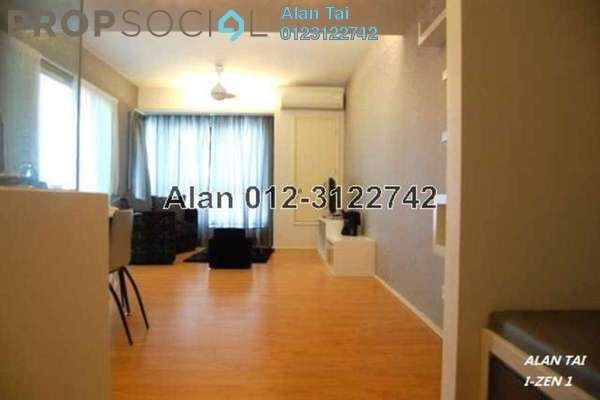 For Rent Condominium at i-Zen Kiara I, Mont Kiara Freehold Semi Furnished 2R/2B 2.6k