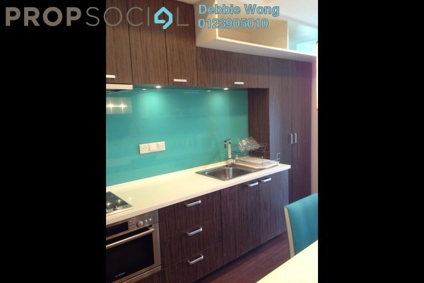 For Rent Condominium at VERVE Suites, Mont Kiara Freehold Fully Furnished 1R/1B 2.4k