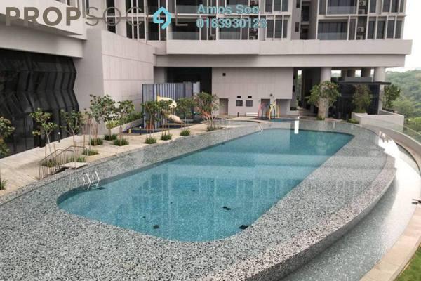 For Rent Condominium at Twin Arkz, Bukit Jalil Freehold Semi Furnished 1R/1B 2k