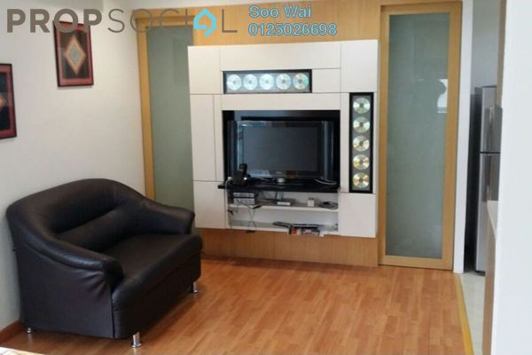 For Sale Serviced Residence at Park View, KLCC Freehold Fully Furnished 1R/1B 495k