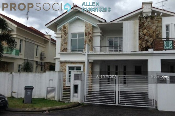 For Rent Semi-Detached at Casa Impiana, Johor Bahru Leasehold Semi Furnished 5R/5B 3k