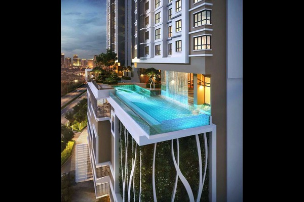 For Sale Condominium at Avantas Residences, Old Klang Road Freehold Unfurnished 2R/2B 710k