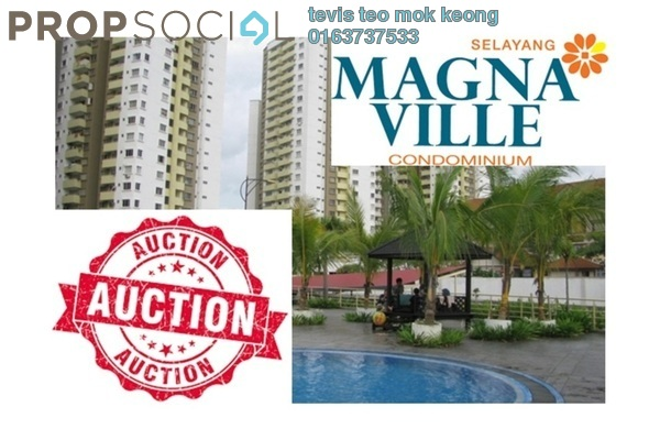 For Sale Condominium at Magna Ville, Selayang Leasehold Unfurnished 3R/2B 340k