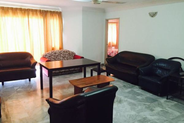 For Rent Condominium at Endah Villa, Sri Petaling Leasehold Fully Furnished 3R/2B 1.9k