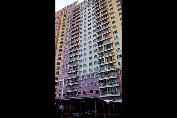 For Rent Condominium at Juta Mines, Seri Kembangan Leasehold Semi Furnished 3R/3B 1.3k