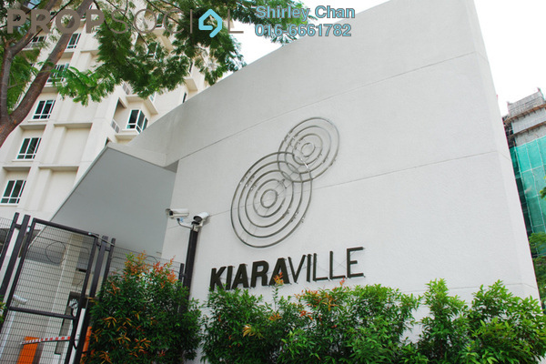For Rent Condominium at Kiaraville, Mont Kiara Freehold Fully Furnished 3R/2B 7k