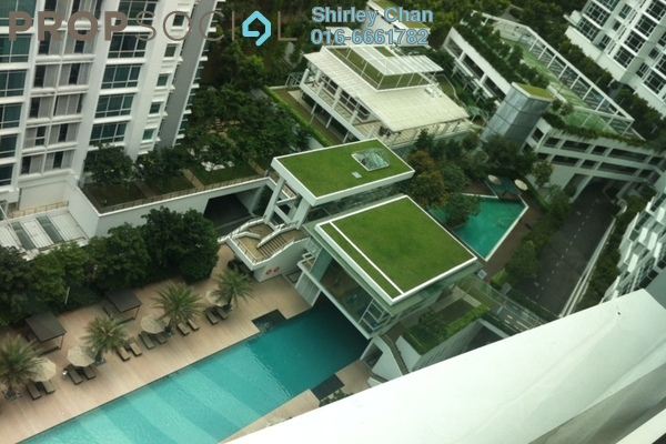 For Rent Condominium at Sunway Vivaldi, Mont Kiara Freehold Fully Furnished 4R/3B 12k